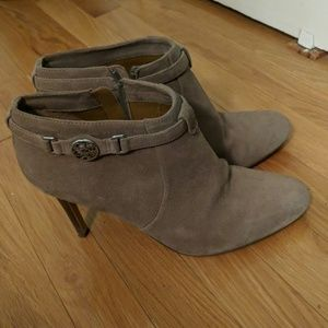 Coach Salene booties - stone suede - 10